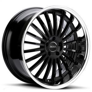 XIX X59 Gloss Black w/ Stainless Steel Chrome Lip