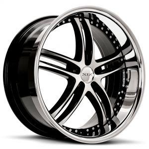 XIX X15 Gloss-Black-Machined Standard
