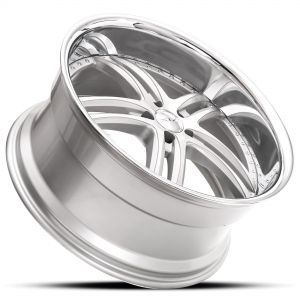 XIX X15 Gloss-Silver-Machined Dramatic