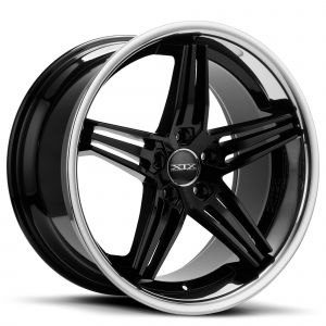 XIX X63 Gloss-Black Chrome-Lip Standard
