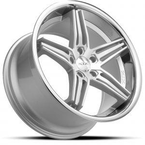 XIX X63 Silver-Machined Chrome-Lip Dramatic