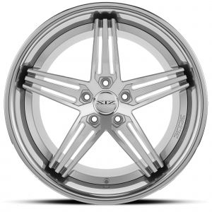 XIX X63 Silver-Machined Chrome-Lip Front