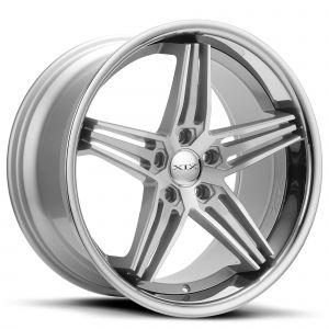 XIX X63 Silver-Machined Chrome-Lip Standard