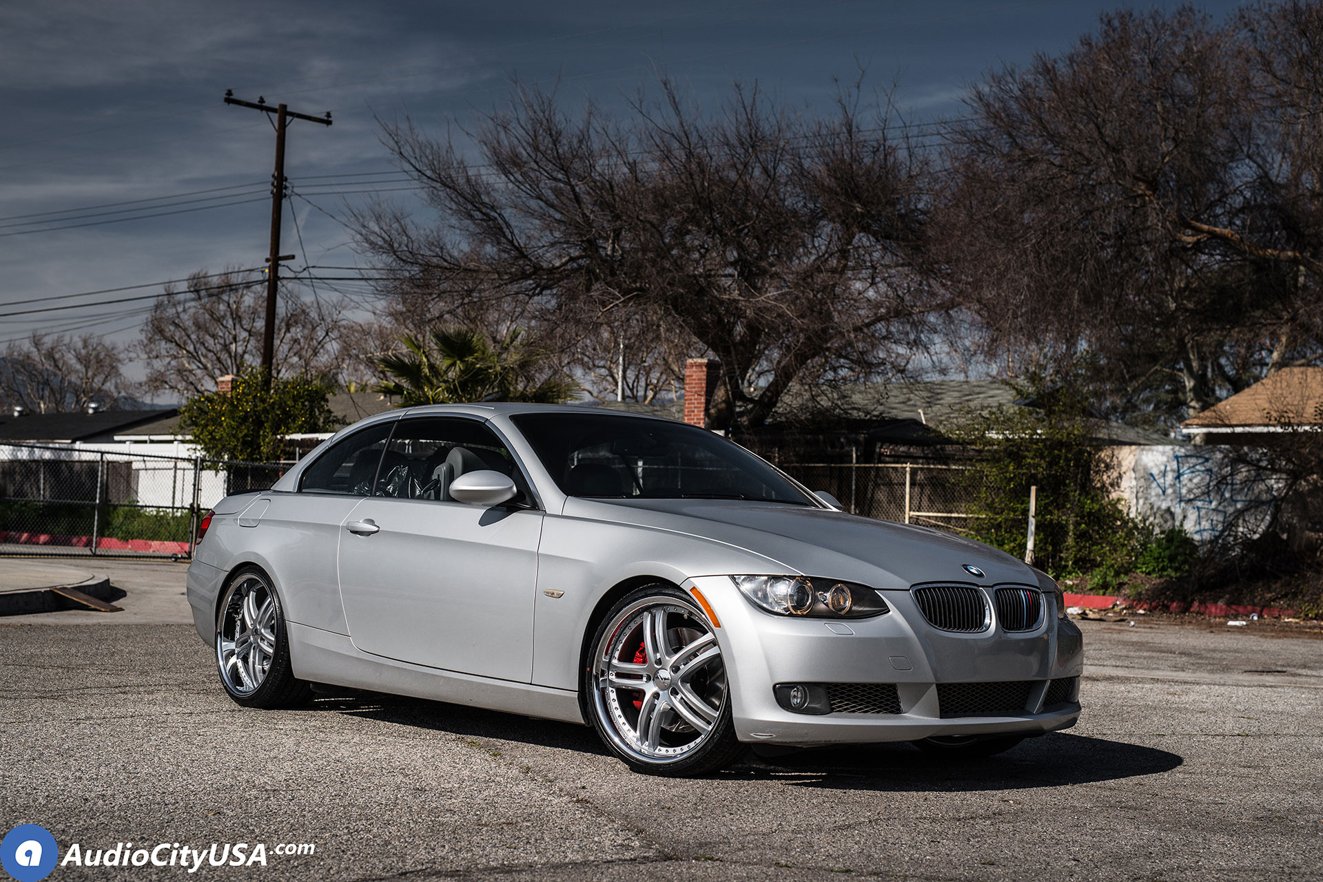 BMW 3 Series on XIX X15 Wheels Silver with Machined Face
